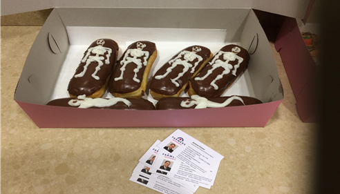 Andrew Chavez - <pre>Thank You Primo&rsquo;s Donuts for your award winning donuts!</pre>