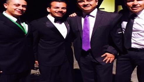 Andrew Chavez - <pre>2014 Champion Achievement Award Ceremony in San Antonio</pre>