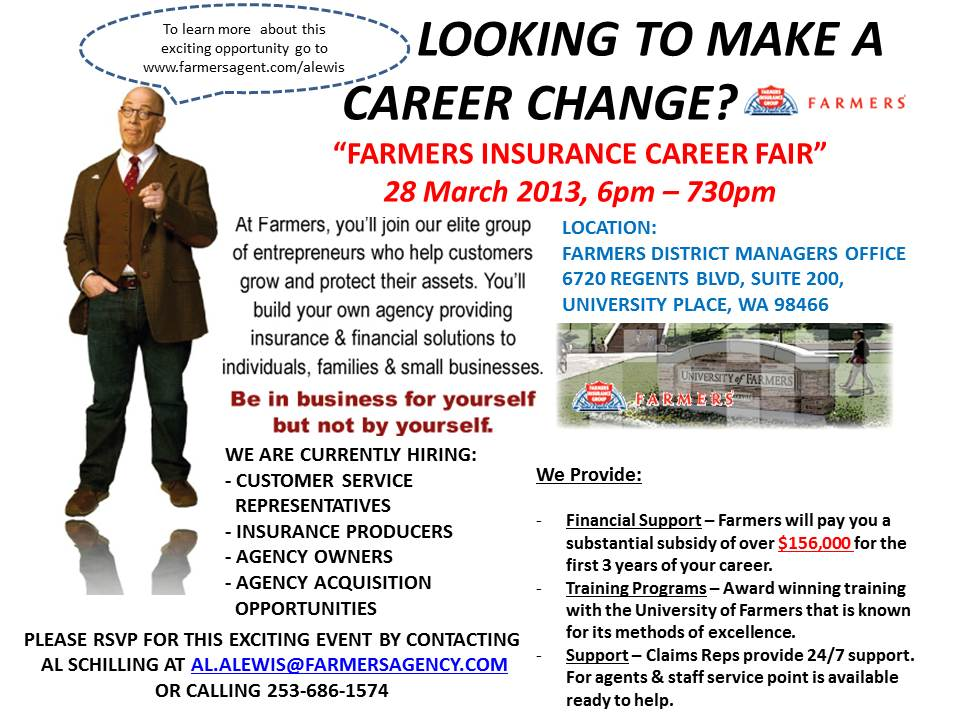 looking for a career change