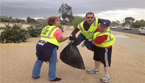 April Schaffroth - <pre>Our Agency helping &quot;Keep Scottsdale Beautiful&quot; while having fun in Phoenix, AZ.</pre>