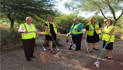 April Schaffroth - <pre>Farmers® Insurance + Picking up Trash = Awesome Agency!! Phoenix, AZ</pre>