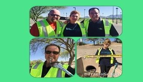 April Schaffroth - <pre>Special THANK YOU to Service Masters Superstars who helped in our clean up event</pre>