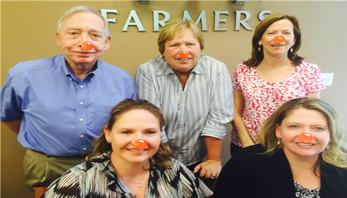 April Schaffroth - <pre>Our Agency wants to rally around  Red Nose Day to support impoverished children.</pre>