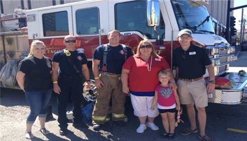 April Tolbert - <pre>We proudly support our local Fire Fighters!</pre>