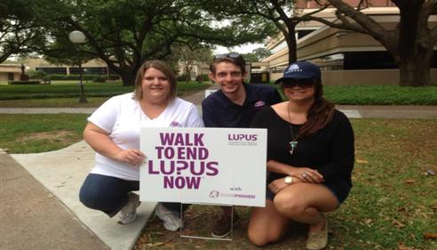 April Tolbert - <pre>Walk to End Lupus</pre>