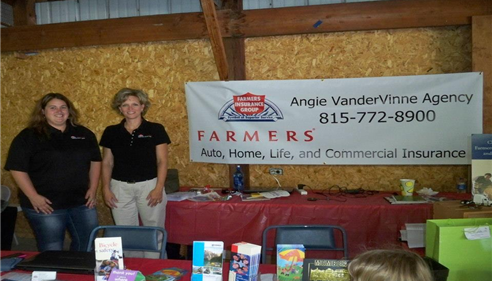 Angela VanderVinne - 2012 Whiteside County Fair - GREAT TIME!