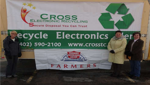 Allen Weaver - <pre>Recycle Electronics Event was a success! Thank you for all those who donated.</pre>