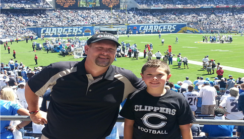Brian Baker - <pre>Sept 13, 2015 at the Chargers vs Lions game in San Diego.</pre>