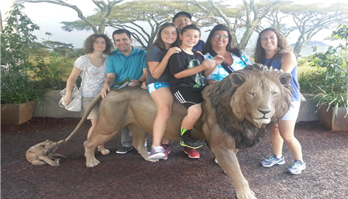Brian Baker - <pre>My family at the San Diego Zoo</pre>
