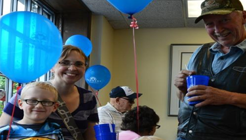 Bonnie Perkins - <pre>Kids and adults of all ages came out to enjoy the ice cream social this year!</pre>