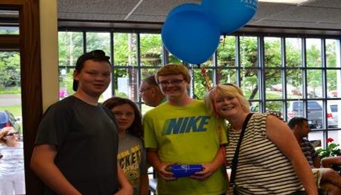 Bonnie Perkins - <pre>Family fun at the Ice Cream Social!</pre>