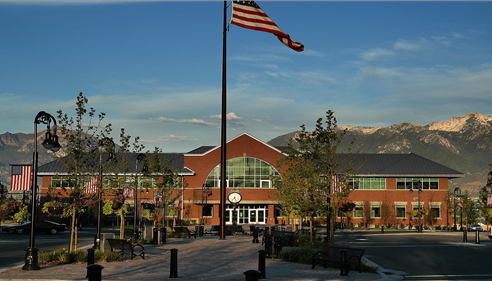 Brent Tate - <pre>Our office is steps (literally) from the the South Jordan City Hall.</pre>