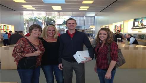 Chadwick McFarland - <pre>Chad taking Tami, Chessa and Dayna for an important office field trip!</pre>