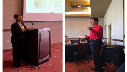 Christian Slayton - <pre>Our Nancy and Armando presenting our FFR process at the 2015 Agent Conference!</pre>