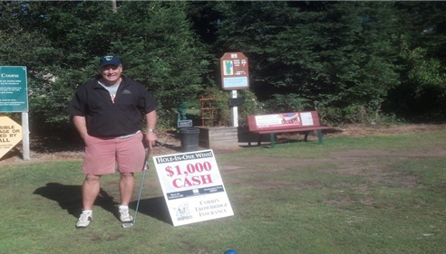 Corrin Trowbridge - <pre>Our monthly Hole In One Tournament at Emerald Hills!</pre>