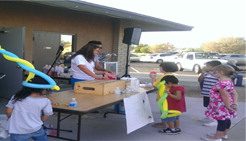 Deb Beckman - <pre>Working w/NCS high school students - carnival for After-the-Bell program!</pre>