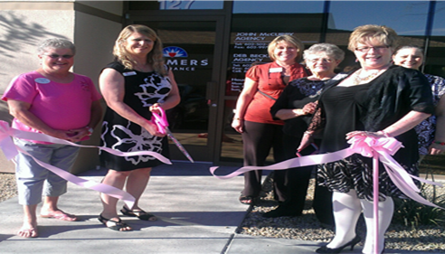 Deb Beckman - <pre>GPS Ribbon-cutting at our new office location in Glendale, AZ 85308</pre>