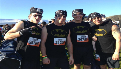 David Cook - <pre>Crazy Tough Mudder in 2014 - Temecula</pre>