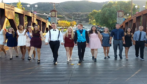 David Cook - <pre>My daughter and friends - 2014 homecoming dance</pre>