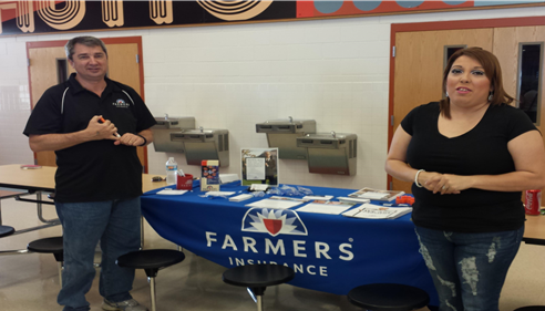 Doug Gaul - <pre>Doug and Ashley at the Hutto YMCA Healthy Kids Day event on April 25, 2015.</pre>
