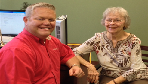 David Lorms - <pre>We love clients to visit our office, like Ms Bobbie Comer.</pre>