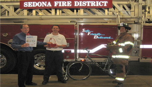 Don Nelms - <pre>Bike Rodeo 2013! Nelms Insurance, Sedona Fire District Schools! Proud Sponsor!</pre>