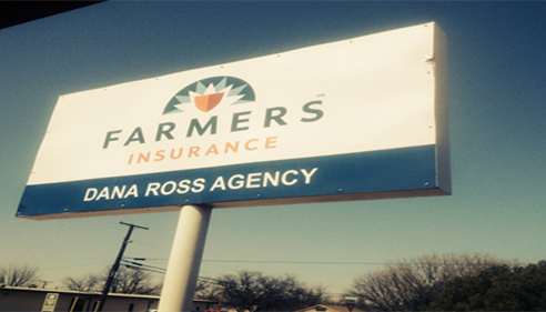 Dana Ross - <pre>My new Farmers® sign!! So proud of it!</pre>