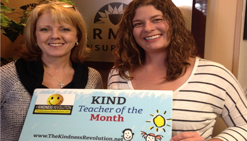 Dana Ross - <pre>October&rsquo;s Kind Teacher of the Month-Erin Wood Nimetz.</pre>