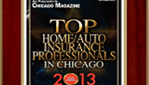Erich Held - <pre>Oct 2013 Chicago Magazine, Top Home and Auto Insurance Professionals</pre>