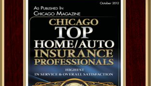 Erich Held - Oct 2012 Chicago Magazine, Top Home and Auto Insurance Professionals