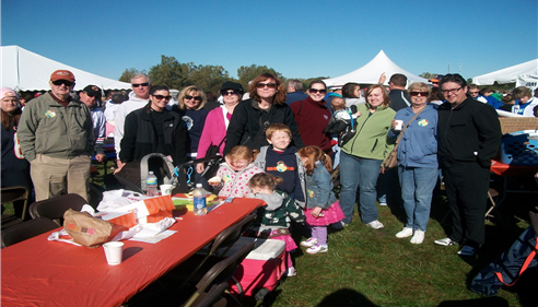 Eileen Mark - <pre>JDRF Walk, Team Jo Jo, Eileen Mark Agency, MVCC, Palos Hills, IL, 2012</pre>