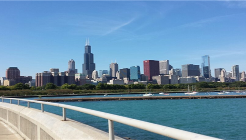Eileen Mark - <pre>Our beautiful sky line! Chicago!</pre>