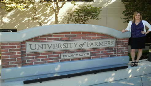 Eileen Mark - <pre>University of Farmers®, Agoura Hills, California 2012</pre>