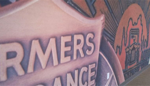 Emma Morgan - <pre>Wall inside the University of Farmers®.</pre>