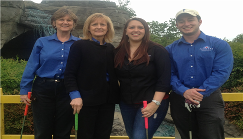 E. Craig Slater - <pre>2014 Team photo, Chamber of Commerce Putt-Putt Challenge</pre>