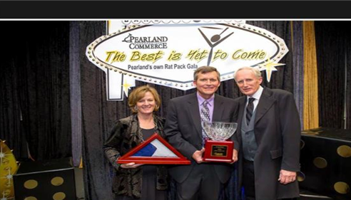 E. Craig Slater - <pre>2015 Pearland Chamber, &quot;Citizen of the Year&quot;</pre>