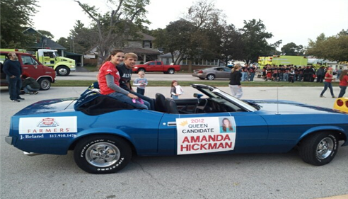 Gerald Beland - <pre>My niece, Amanda (and client)homecoming queen.</pre>