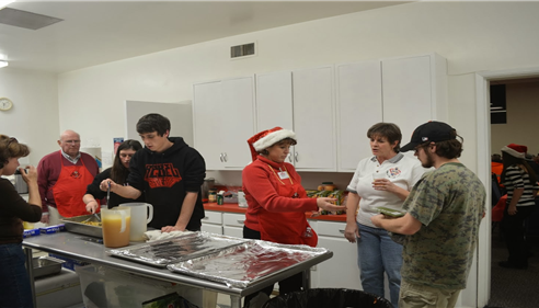 Greg Goodman - <pre>A great Lions event. The blind Christmas Party where my family lends a hand!</pre>