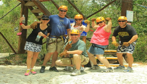Gregory Olinger - <pre>The ultimate team building! Zipline!</pre>