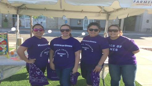 Gloria Sanchez - <pre>2015 March for Babies walk at Fountains of Farah</pre>