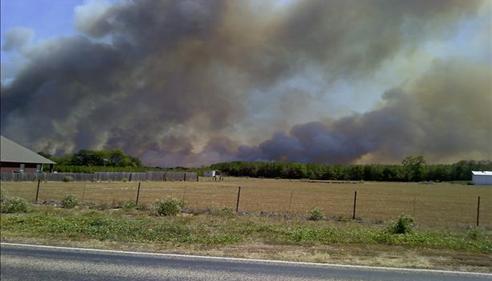 Gerri Thompson - <pre>Texas Wildfires</pre>