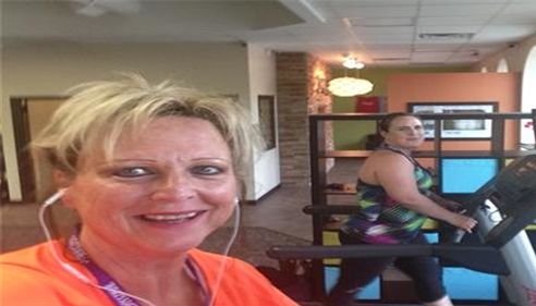 Gerri Thompson - <pre>Working out...a part of our &quot;best we can be&quot; program!</pre>