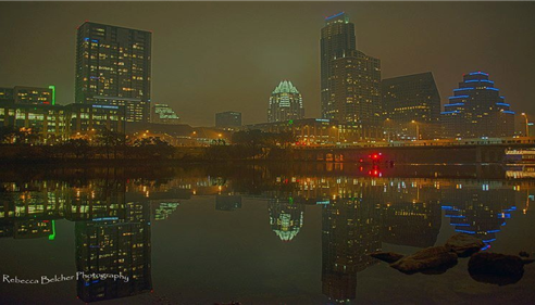 Gerri Thompson - <pre>Our Capital...Austin, Texas by night!</pre>