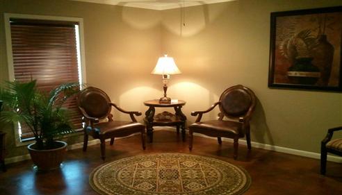 Gerri Thompson - <pre>Our Office...reception area</pre>