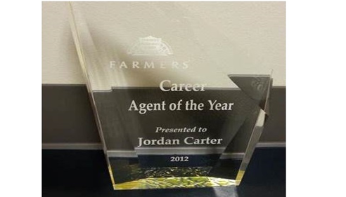 Jordan Carter - <pre>Jordan Carter - Won Agent of the Year Award!</pre>