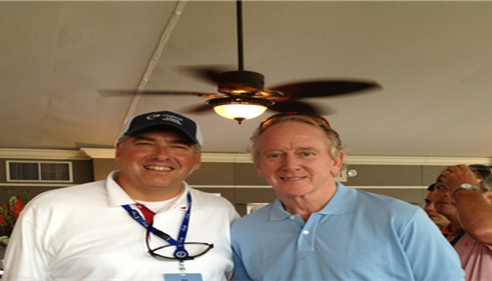 Jim Cline II - JIM WITH ARCHIE MANNING AT ZURICH OPEN