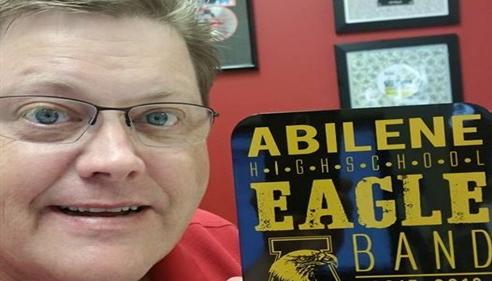 JB Cloud - <pre>JB supports local school, Abilene High Eagle Band.</pre>