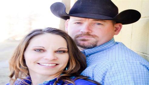 JB Cloud - <pre>My 1st customers & long time friends, Jason & Shelia Cory.</pre>