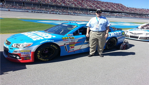 JB Cloud - <pre>When in Talladega, you&rsquo;ve got to get your picture with THE CAR!</pre>