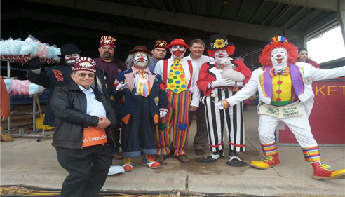 JB Cloud - <pre>JB is also a Shriner. I&rsquo;m in the back hanging with my Shriner Klown buddies</pre>